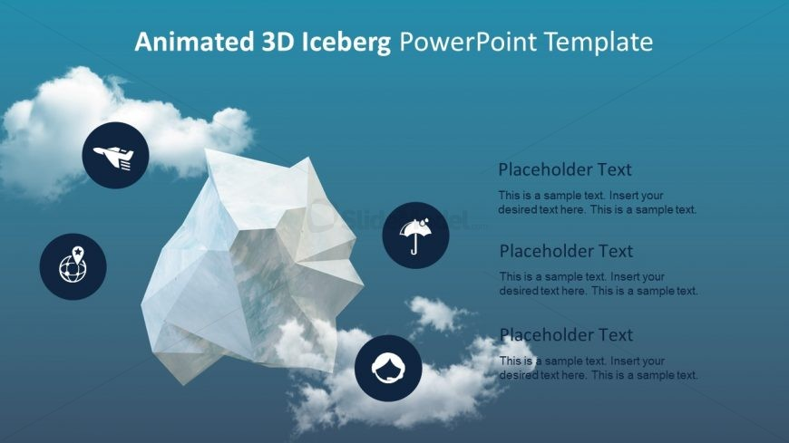 Animated 3D Iceberg Presentation