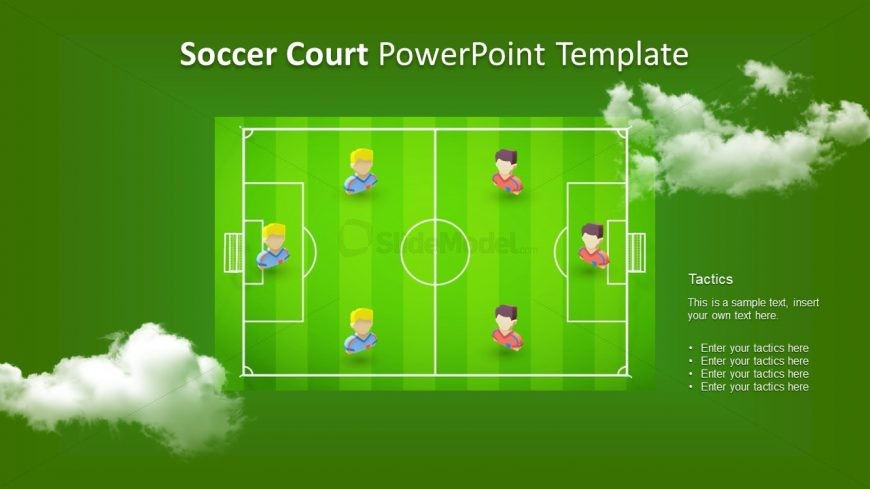 Football Pitch PPT Icons