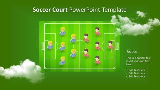 Template Football Field Guide