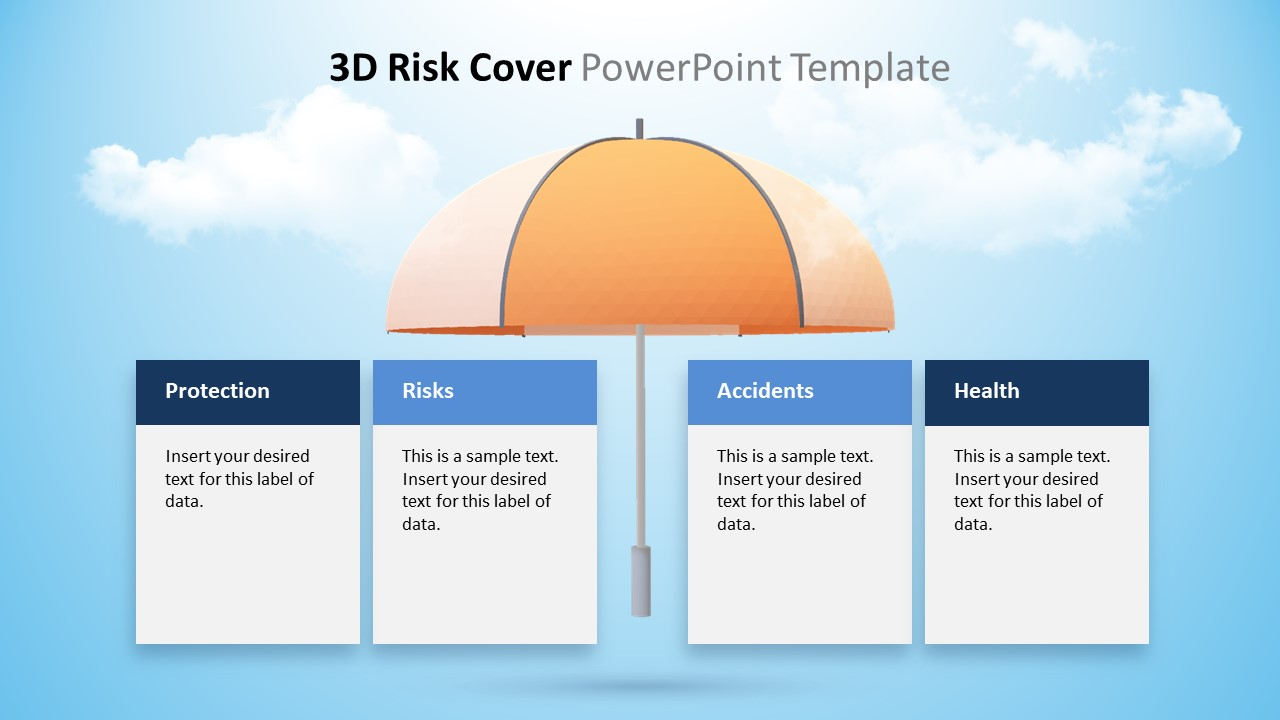 4 Segments Animated 3D Template