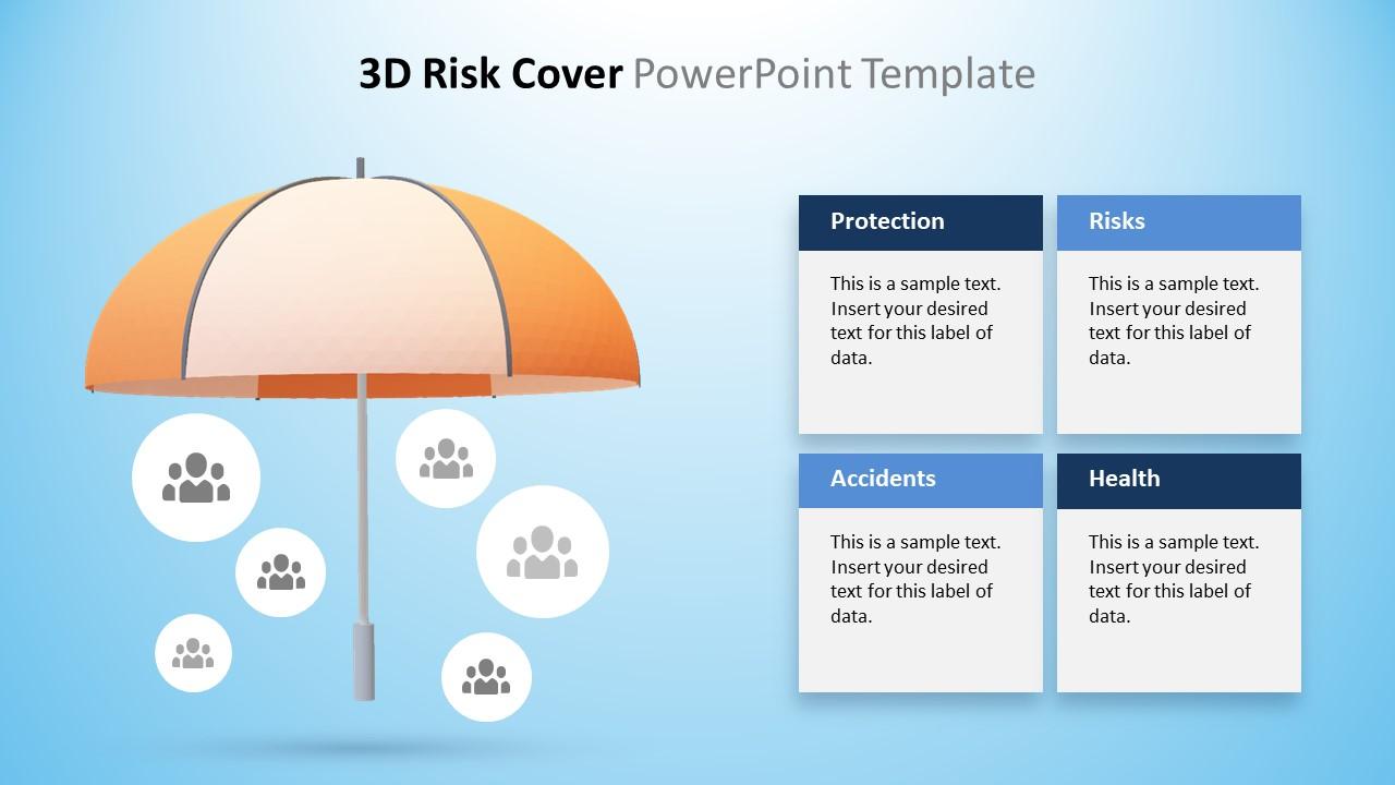 Animated Umbrella Graphic Slide