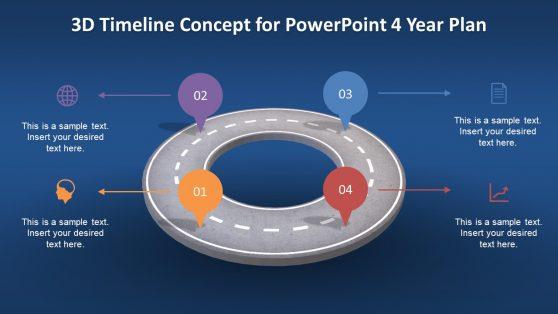 3D Timeline Concept Presentation