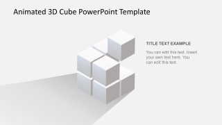 Animated 3D Cube PowerPoint Template