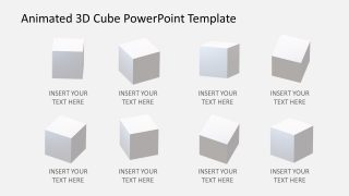 3D Cubes in Horizontal Que