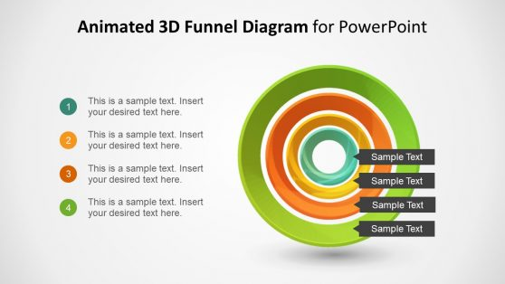 4 Step 3D Funnel Presentation