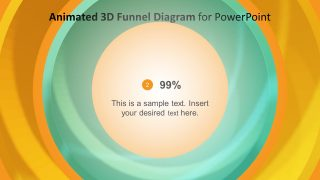 Template of Funnel 3D Diagram