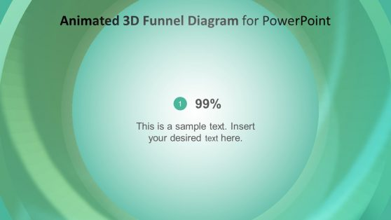 Narrow Funnel 3D Design Template