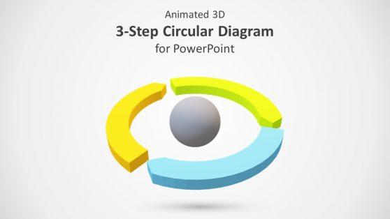 3 Step Circular Process Segments