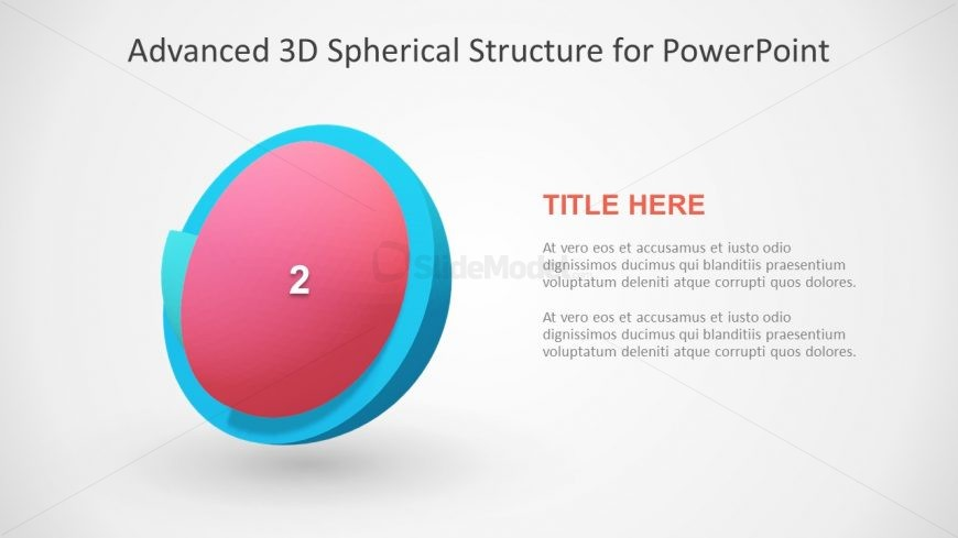 Spherical 3D Model Design