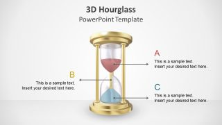 Animated 3D Hourglass PowerPoint Template