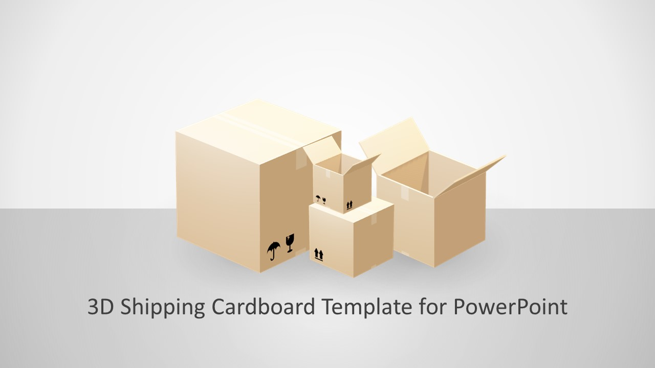 4 Cardboard Template of Couriers