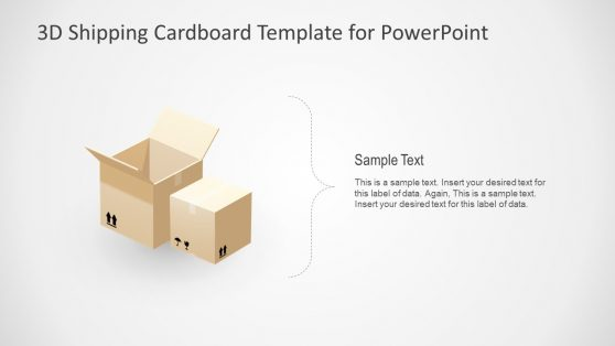 Animated 3D PowerPoint Cardboard
