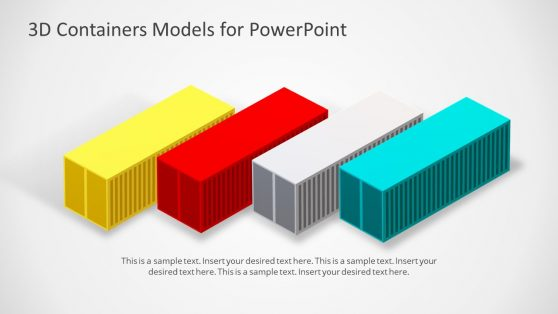 PowerPoint 3D Models of Containers