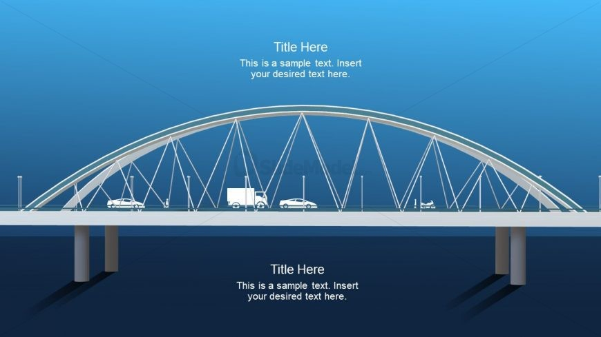 Animated Slides with 3D bridge Model