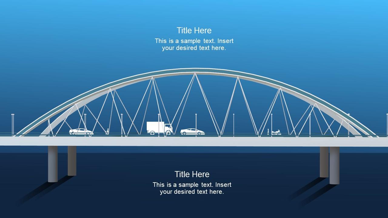 Animated Slides with 3D bridge Model