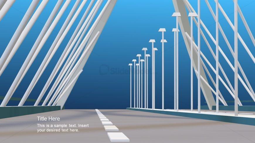 Construction Presentation 3D Bridge Animation