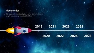 Presentation of Spaceship Timeline