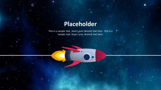3D Outer Space Presentation Template