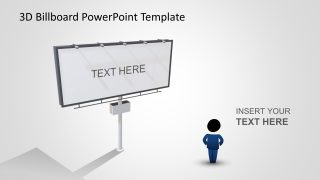 Animated 3D Billboard PowerPoint Template