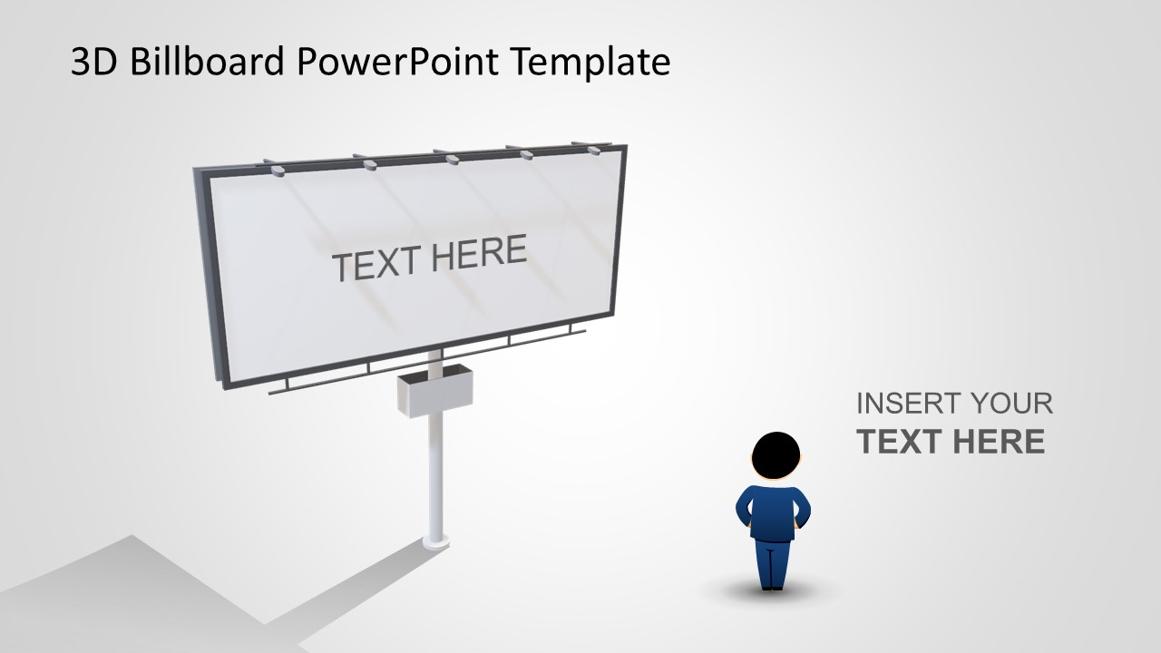 Sales Template with 3D Board