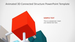3D Objects in PowerPoint Diagram
