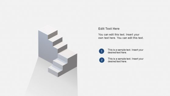 Stairway PowerPoint 3D Animation