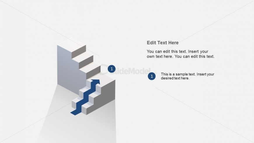 3 Steps 3 Levels Diagram Design