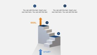 Staircase Layout for 3D Animation