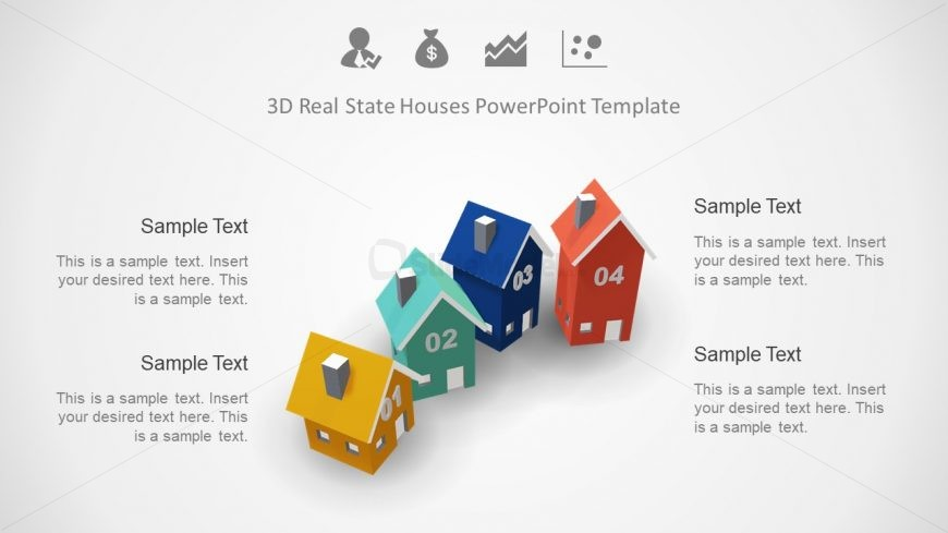 PowerPoint Infographics Template House