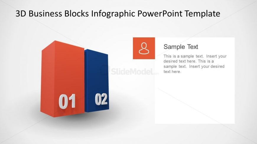 Animated PowerPoint Diagram of Blocks