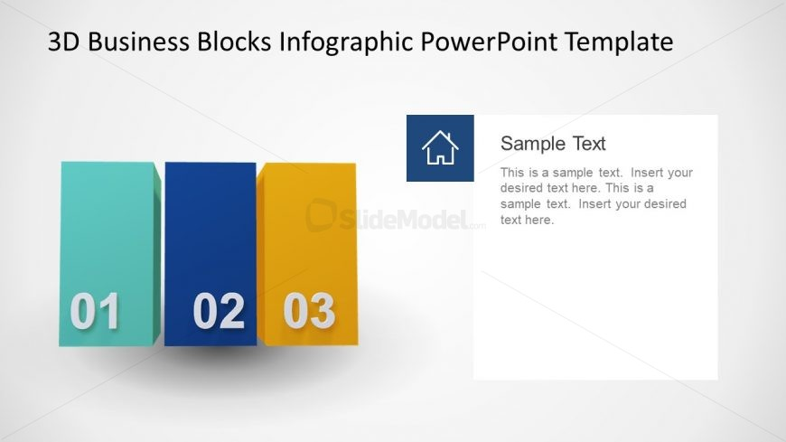 3 Blocks Animated PPT
