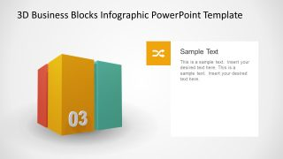 PPT Blocks Cube Presentation