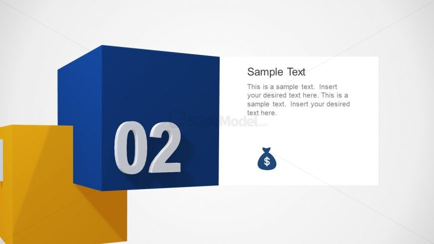 PPT 3D Cube Animation Design