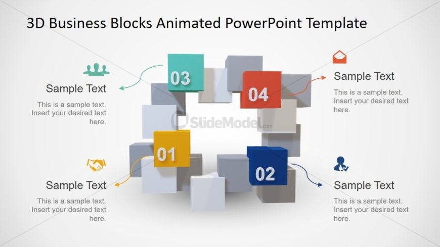 Business PowerPoint 3D Model