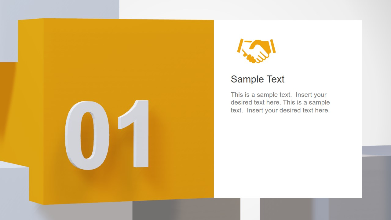 3D Model Animated Template
