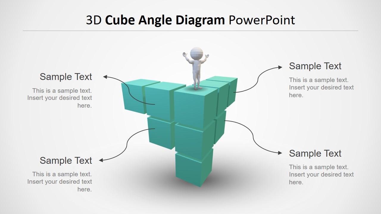 3D Model Cube Diagram