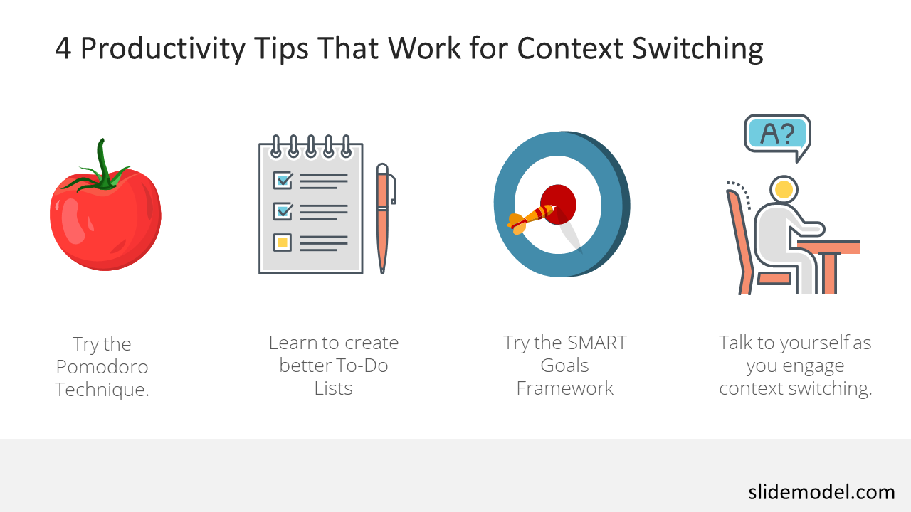 PowerPoint Templates Context Switching Productivity Tips