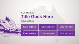 Australia Slide Design Template for PowerPoint