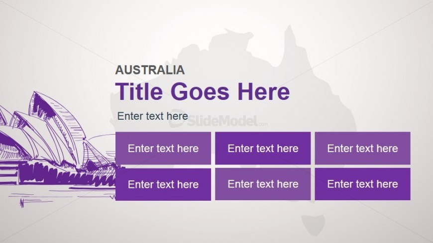 Australia Slide Design Template for PowerPoint
