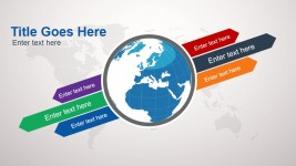 Animated Globe Clipart Design for PowerPoint