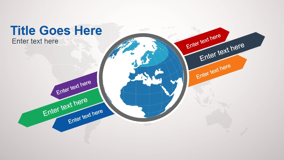 Animated continental powerpoint template slidemodel animated globe clipart design for powerpoint toneelgroepblik Image collections