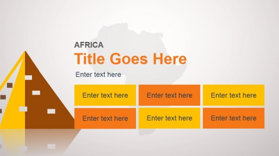 Africa Slide Design Template for PowerPoint