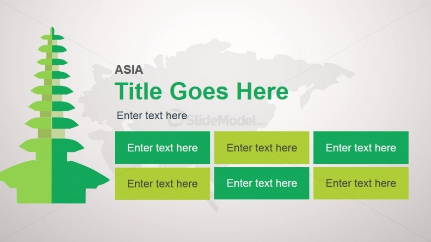 Asia Slide Design Template for PowerPoint
