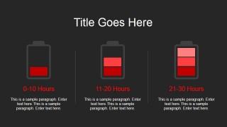 Animated Battery Clipart Slide Design