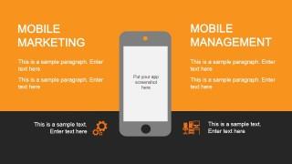Smartphone Mobile Marketing PowerPoint Slide