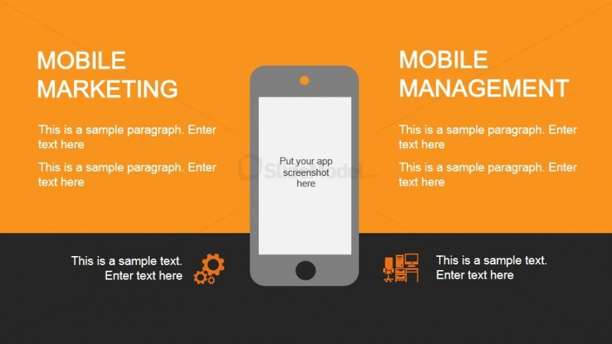 Smartphone Mobile Marketing PowerPoint Slide