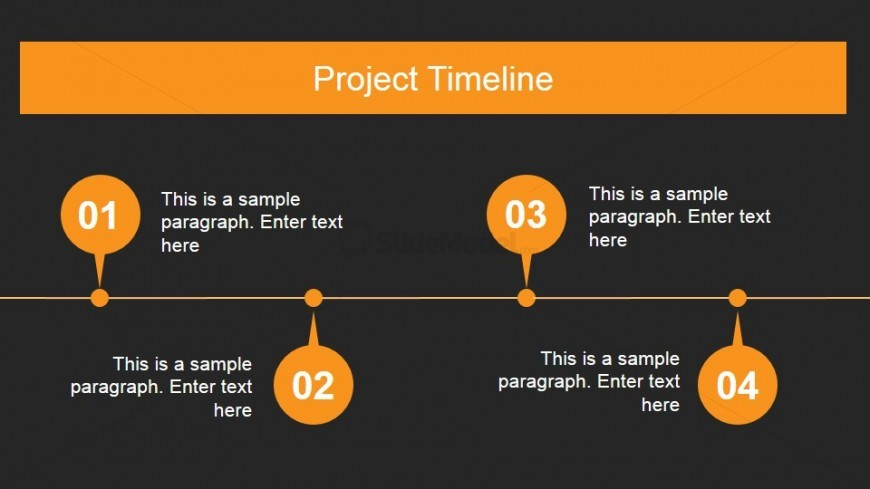 Product Portfolio Timeline Design for PowerPoint