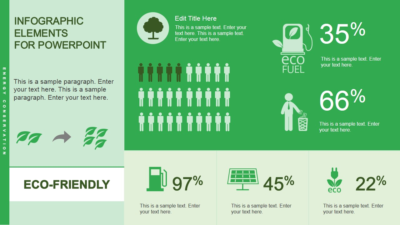 eco-friendly infographic powerpoint template
