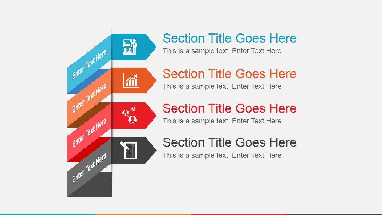 Animated PowerPoint Template SlideModel – Cool Agenda Templates