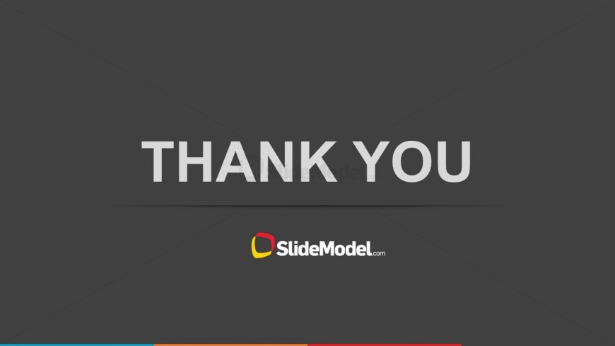 Simple Thank You Slide Design for PowerPoint